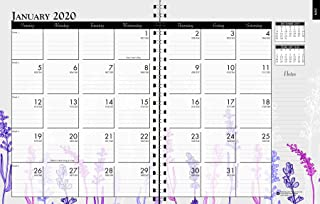 product image for House of Doolittle 2020 Monthly Calendar Planner, Wildflower, 7 x 9 Inches, January - December (HOD295674-20)
