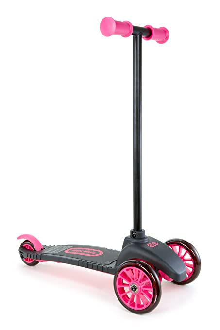 Amazon.com: Little Tikes – Lean a turn – Patinete (Rosa ...