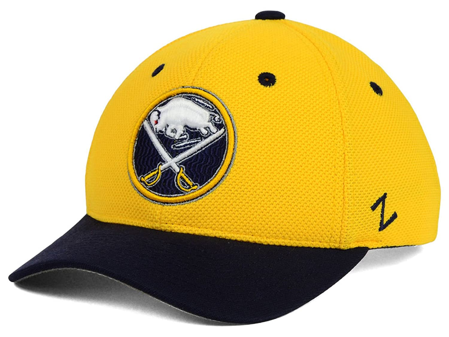 5ec7ec07a21 Buy Buffalo Sabres NHL Zephyr Youth Tyke Snapback Adjustable Yellow Navy Hat  Online at Low Prices in India - Amazon.in