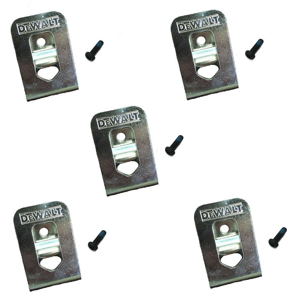 DeWalt N169778 OEM Belt Clip/Hook for 20V Max DCD980 DCD985 DCD980L2 DCD985L2 (5 Pack)