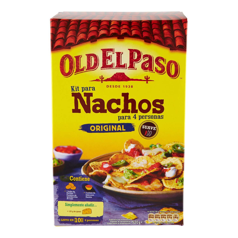 Amazon.com : Old El Paso - Original Nachos - 520g : Grocery & Gourmet Food