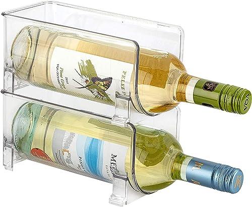 Set of 2 Tabletop Wine Rack