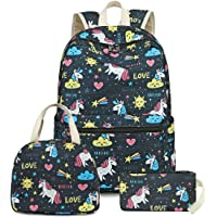 School Backpack for Teens Girls Boys Kids School Book Bag fit 15 inch Laptop Travel Daypack