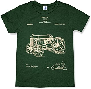 product image for Hank Player U.S.A. Ford Tractor Patent Kid's T-Shirt