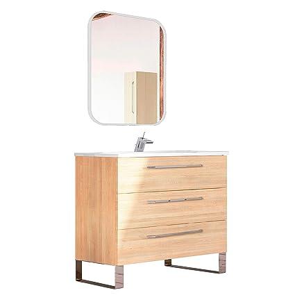40 Inch Modern Bathroom Vanity Cabinet Set Dakota Hawaii