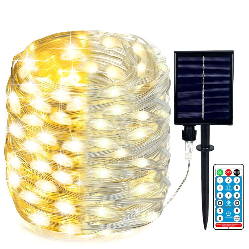 105 FT 300 LED Solar String Lights