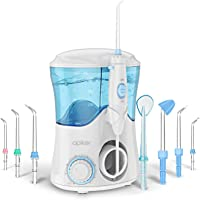 Apiker Elektrische monddouche Oral Irrigator met 10 drukinstellingen, 600 ml waterreservoir, 8 verschillende functionele…
