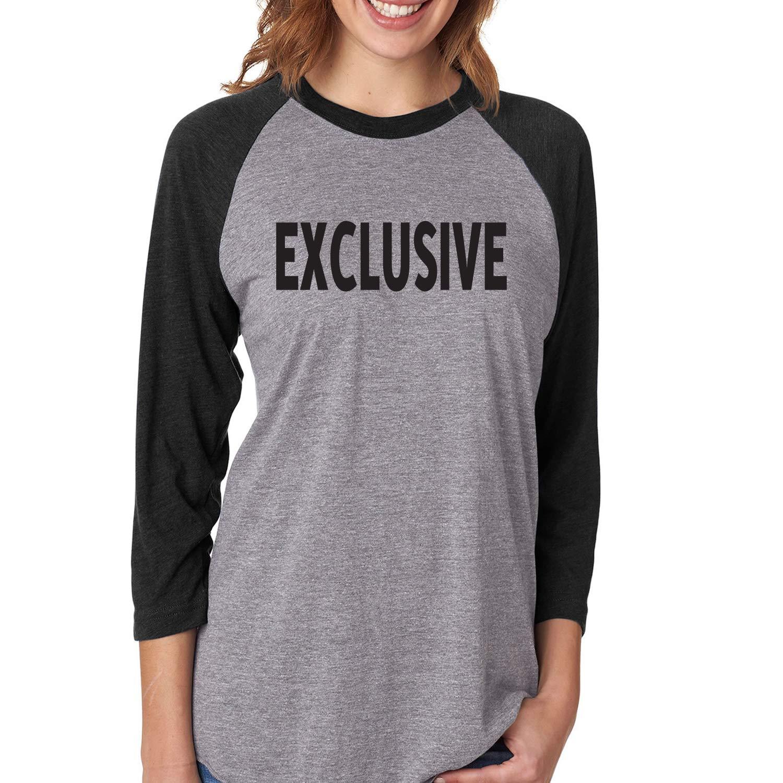 ZeroGravitee Exclusive Unisex 3//4 Sleeve Baseball Raglan Tee