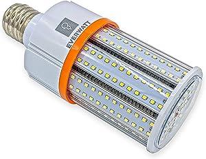 30W (150W Metal Halide Equiv) LED Corn Light Bulb, Large Mogul E39 Base, 3530 Lumens, 4000K, IP64 Waterproof Outdoor Indoor Area Lighting, Replaces MH, HID, CFL, HPS