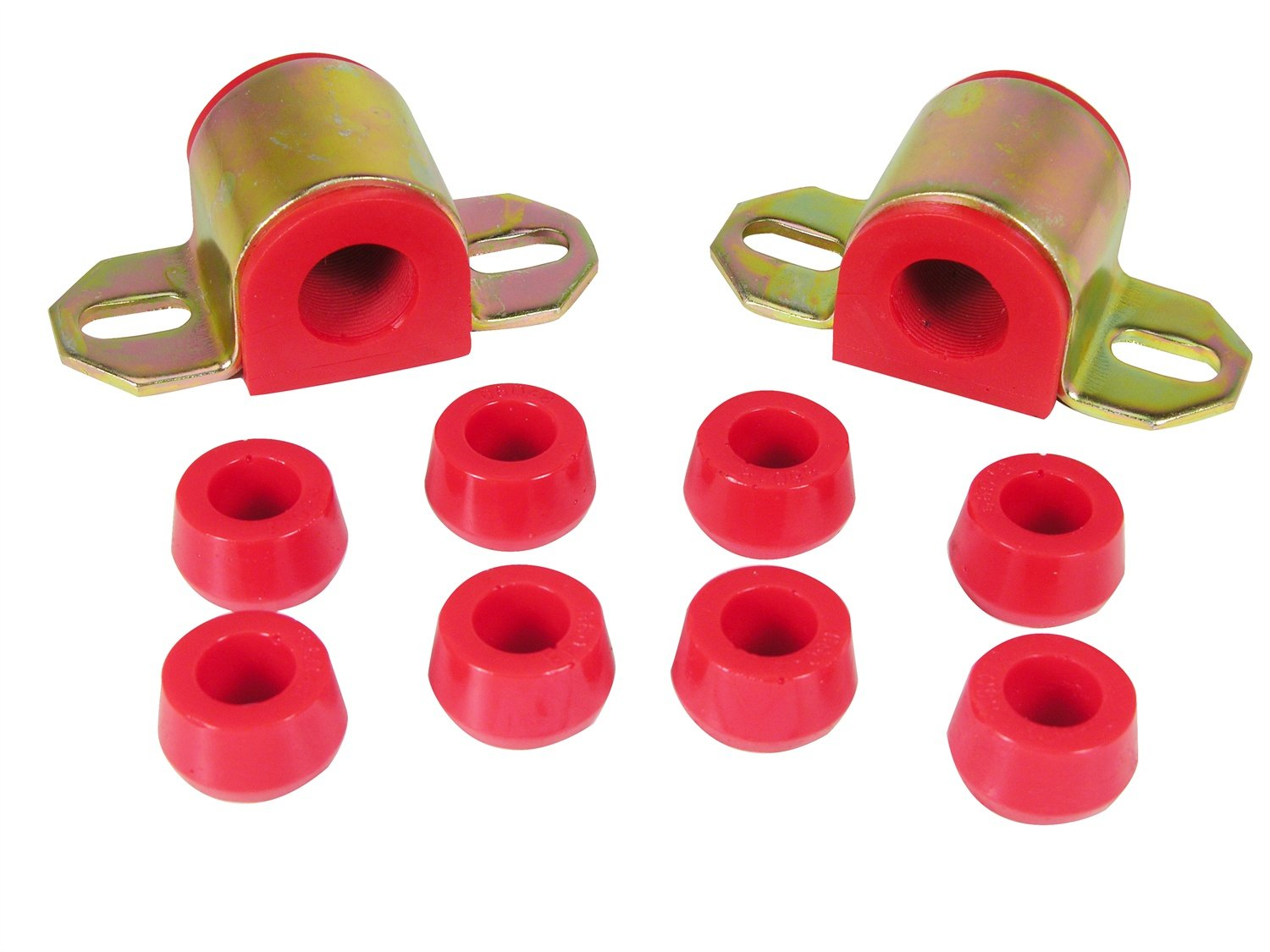 Prothane 1-1110 Red 7/8' Front Sway Bar Bushing Kit for CJ