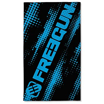 Freegun Serviette de Plage Logo Bleu 100 x 170 cm: Amazon.fr ...