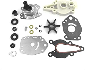 46-42089A5 Water Pump Impeller Repair Kit Replacement for Mercury Mariner MerCruiser Outboards 6 8 9.9 10 15 HP Boat Motor Parts 46-42089A4 46-42089A3