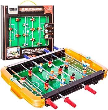 Juinsa- Futbolín sobremesa (96349): Amazon.es: Juguetes y juegos
