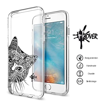 Cover per Apple iPhone 5 5S SE- Inkover - Custodia in Tpu