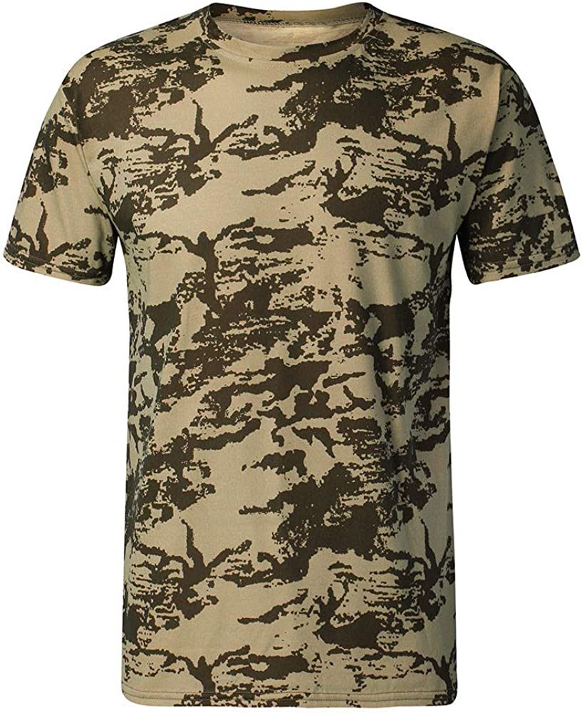 Leaf2you T Shirts for Mens Fashion 2020 New Round Neck Short Sleeve Casual Tee Tops Lazy Cat Graphic Printed Hipster Shirt
