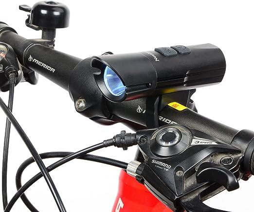 3800 lm 3X CREE situado XM-L T6 LED frontal para bicicleta luz ...