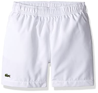 purchase cheap top-rated lovely luster Lacoste Boys' Sport Tennis Shorts