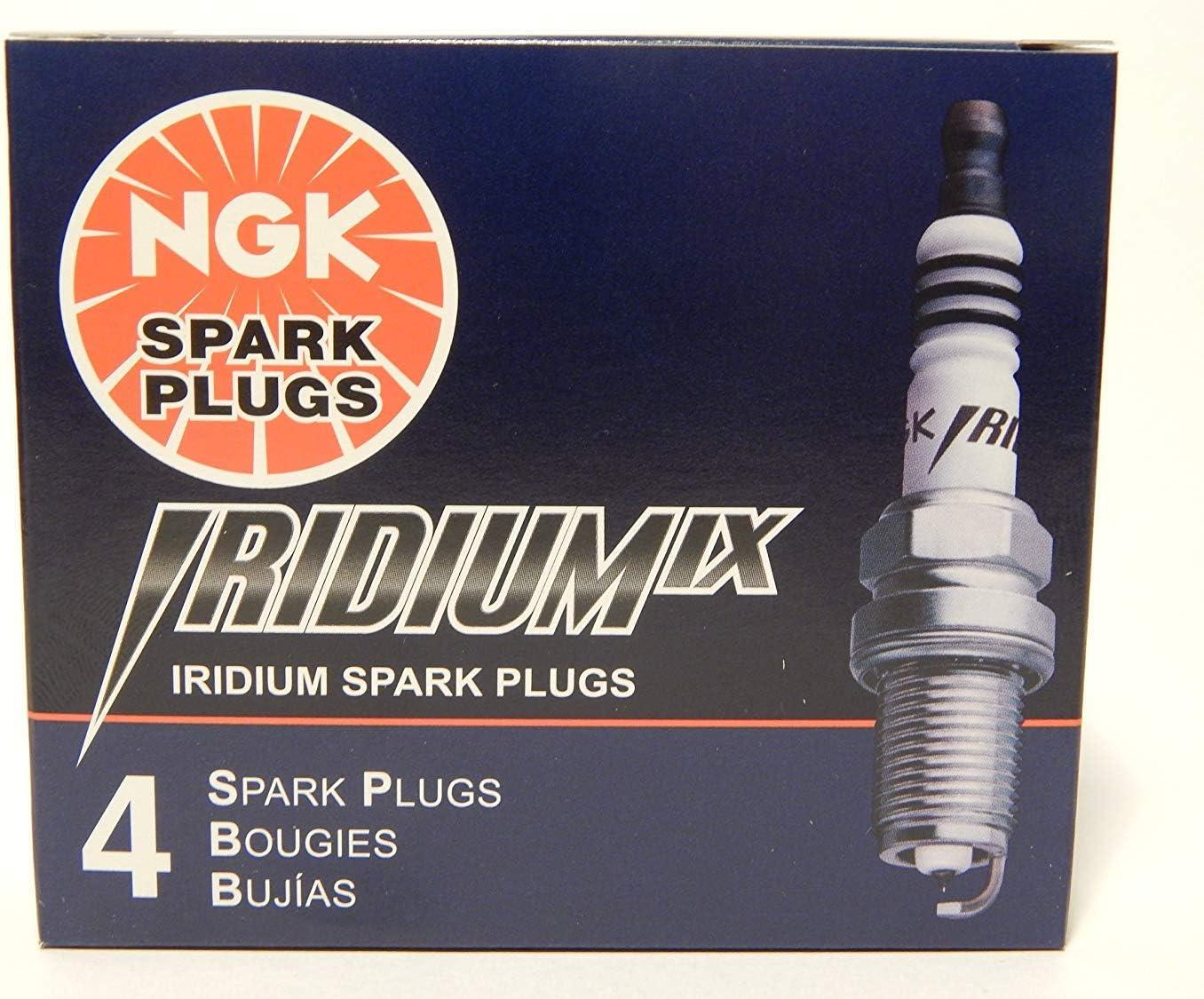4 New NGK IRIDIUM IX Spark Plugs BKR8EIX # 2668 Cold Spark Plug