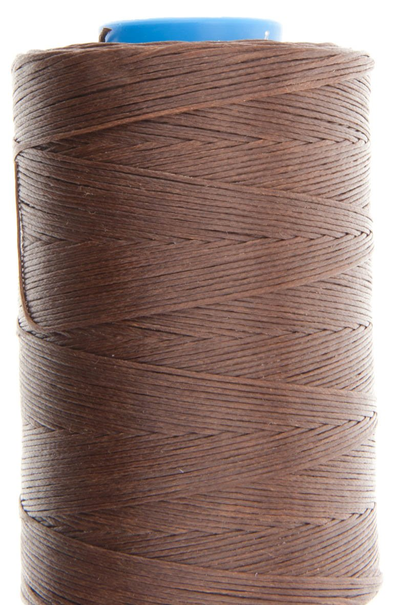 Ritza 25 Tiger Thread - 1.0mm - Mid Brown JK7-500m Spool Factory Sealed for Leather Hand Sewing