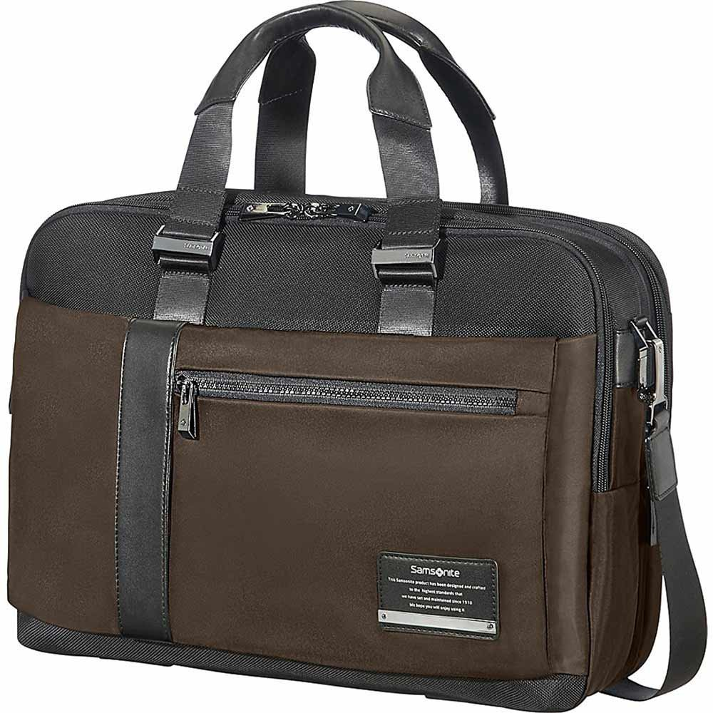 Samsonite Openroad Expandable Laptop Brief (Chesnut Brown) by Samsonite