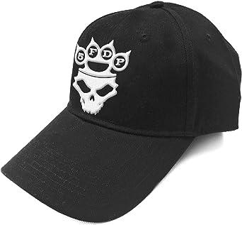 Five Finger Death Punch Beanie Hat KnuckleDuster Band Logo Skull Official Black One Size