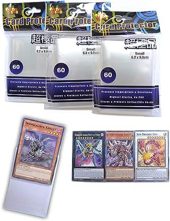 GogoGear Premium Yu-Gi-Oh! Vanguard - Fundas Protectoras para Barajas de Cartas (180 Unidades): Amazon.es: Juguetes y juegos
