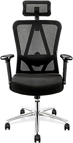 TOPVORK High Back Mesh Office Chair Ergonomic Chair