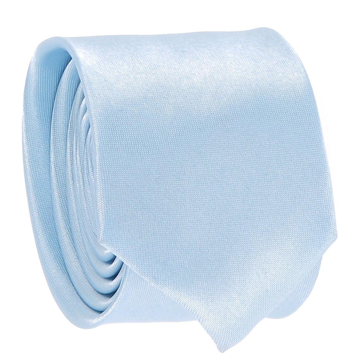 cravateSlim Corbata Estrecha Azul Celeste: Amazon.es: Ropa y ...
