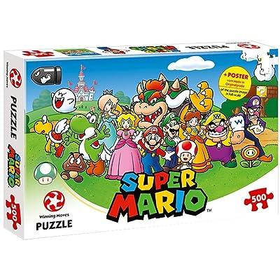 Winning Moves Puzzle Super Mario, 500 Teile