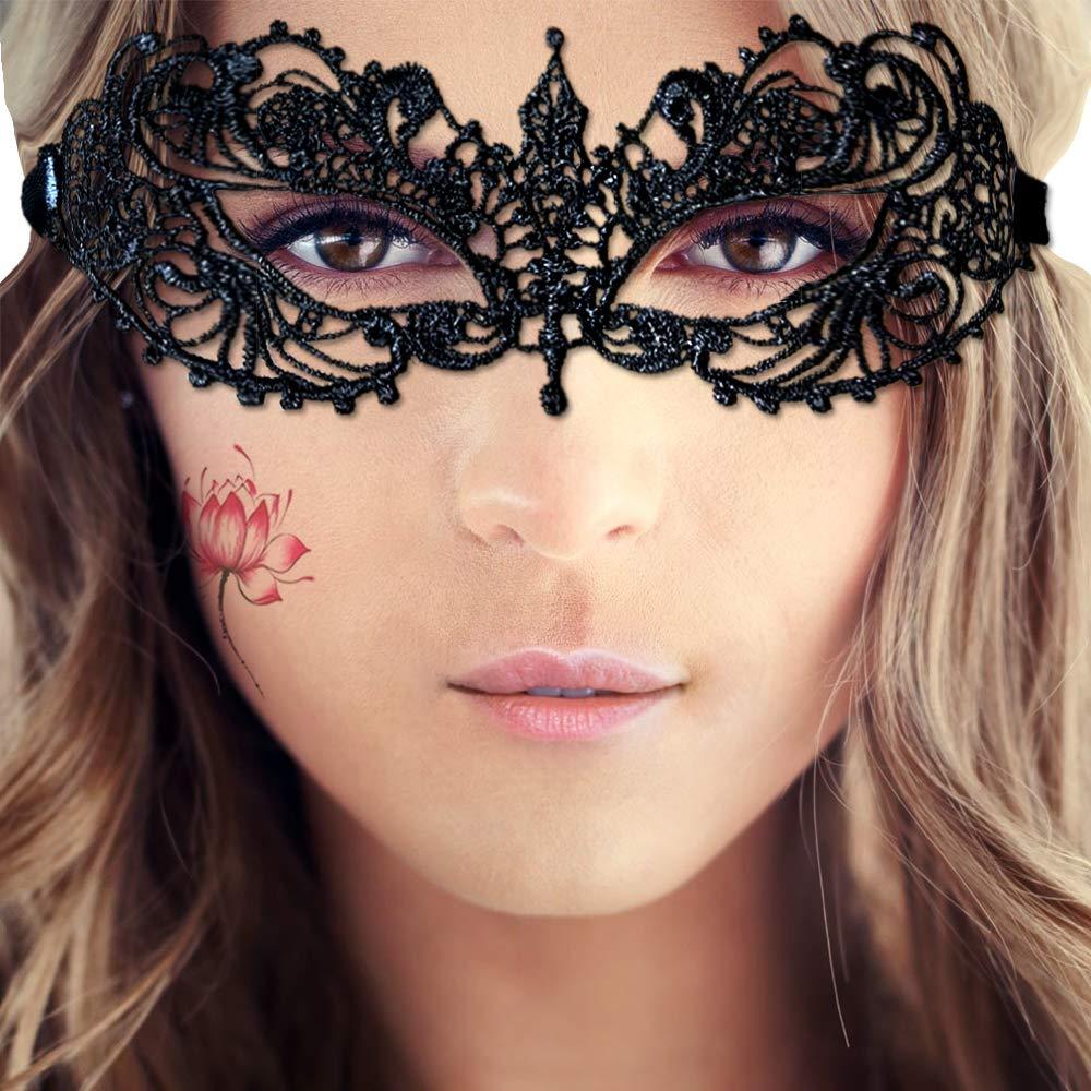 JOEZITON Girl Lady Women\'s Soft Sexy Lace Masquerade Mask