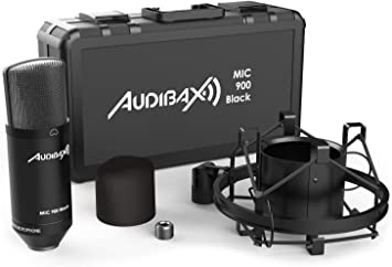Audibax MIC900 Micrófono de Estudio Pack: Amazon.es: Electrónica