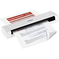 Brother Mobile Document Scanner 7.5 ppm Mono and Colour (300dpi), 5ppm Double Sided scanning, USB