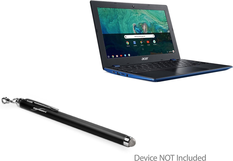 Acer Chromebook 11 (CB311) Stylus Pen, BoxWave [EverTouch Capacitive Stylus] Fiber Tip Capacitive Stylus Pen for Acer Chromebook 11 (CB311) - Jet Black
