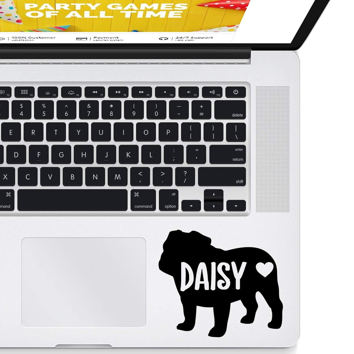 Laptop Decal Car Decal Bulldog Custom Vinyl Sticker Decal