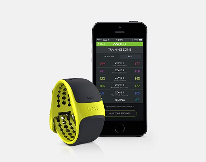 Mio Link Electric Heart Rate Band - Short Strap: Amazon.es ...