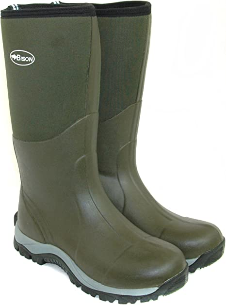 BISON 10mm WINTER NEOPRENE WELLINGTON MUCK BOOT