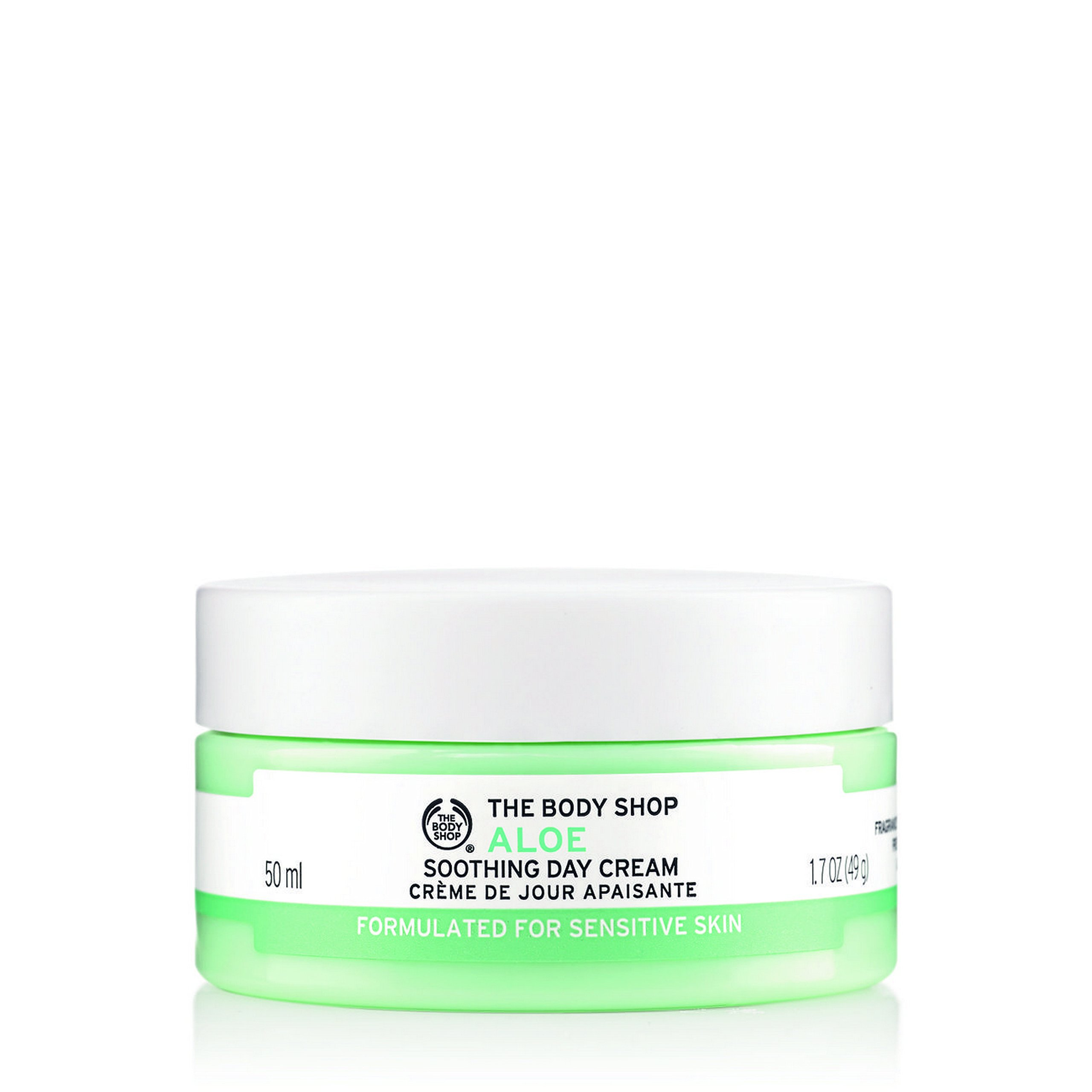 The Body Shop Aloe Soothing Day Cream Regular, 1.7 Ounce (Packaging May Vary)