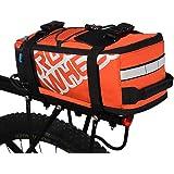 WALKTOROCK 自転車 リアバッグ サドルバッグ サイクリング バッグ ショルダーストラップ付属 全2色