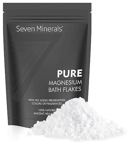 Nuevos copos de cloruro de Mg de Seven Minerals de 3 lb Absorbe mejor la sal
