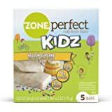ZonePerfect Kidz Nutrition Bars, Yellow Cupcake, 1.23 oz, 30 Count, No Artificial Flavors or Colors