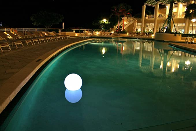 Amazon.com : Chill Lite Floating Swimming Pool Choose-A-Color Round ...