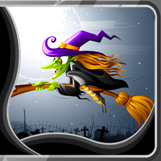 Animated Halloween Wallpaper For Android (Witch Live Wallpapers)