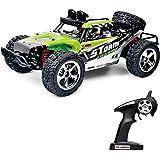 Vatos RC Ferngesteuertes Auto Monster Off Road RC Buggy 4WD 40km/h Im Maßstab 1:12 Fernbedienung 50M 30 Minuten Spieldauer 2.4GHz Elektro Buggy mit wiederaufladbaren Batterien und Akku VL-BG1513A-G (Grüne)