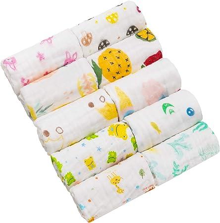 Dimensión: El tamaño de los toallas baño bebe es cerca de 30*30cm,son pequeños y fácil de llevarse ,