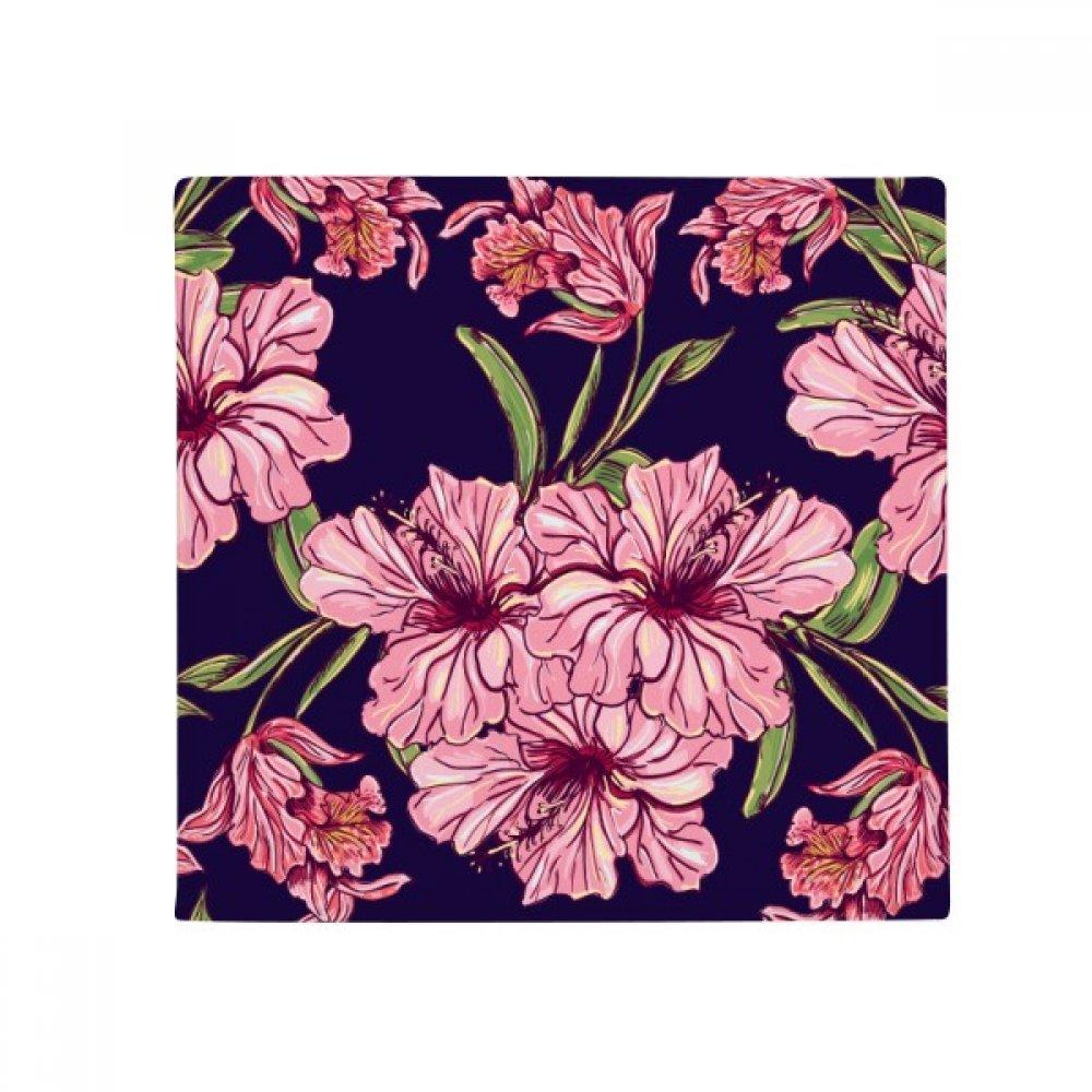 DIYthinker Flower Plant Leaf Dark Anti-Slip Floor Pet Mat Square Home Kitchen Door 80Cm Gift