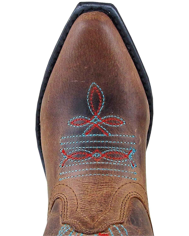 Smoky Mountain Girls Flora Western Boot Snip Toe