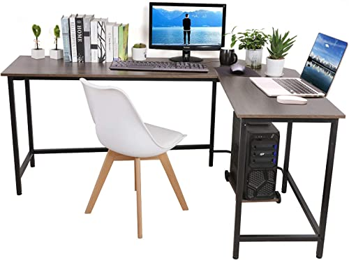 Goteroerce L-Shaped Office Desk Computer Gaming Working