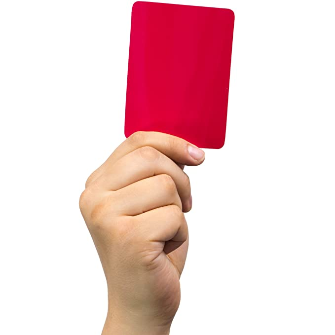 Amazon.com: Pena de alerta & de árbitro tarjeta cartera ...