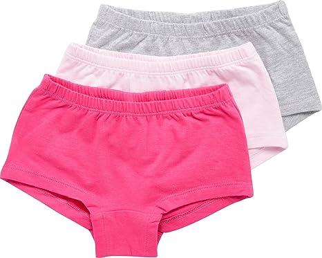 15f8ea1a9c MINYMO MINYMO Mädchen-Pants 3er-Pack Single-Jersey Unterwäsche ...