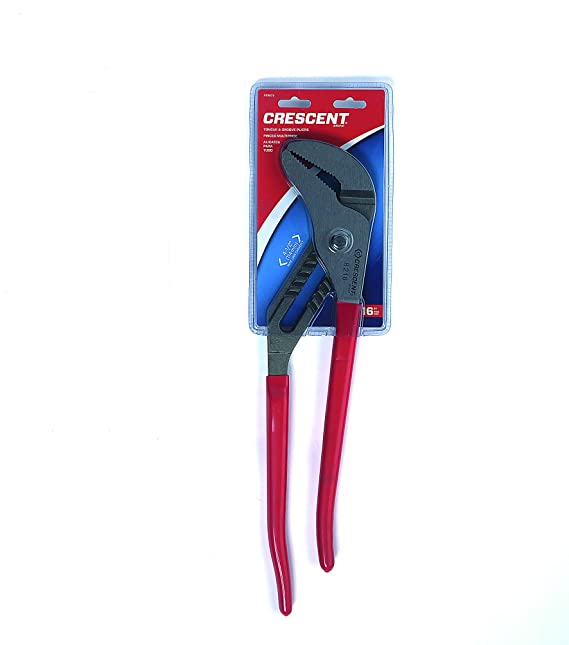 Alloy Steel with Red Cushion Grip Handles Pack of 1 CRESCENT 006147 Pliers